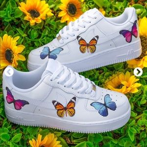 Butterfly Nike Air Force Ones